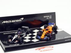 2-Car Set Fernando Alonso 300th Formel 1 GP Kanada 2018 1:43 Minichamps