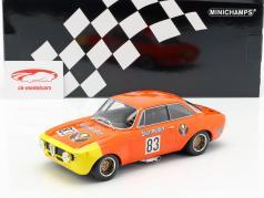 Alfa Romeo GTA 1300 Junior #83 DRM 1972 Rainer Maschke 1:18 Minichamps
