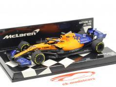 Carlos Sainz jr. McLaren MCL34 #55 Formel 1 2019 1:43 Minichamps