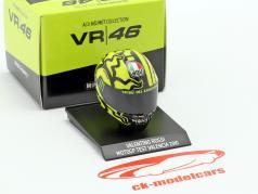 Valentino Rossi Ducati 测试 Valencia MotoGP 2010 AGV 头盔 1:10 Minichamps