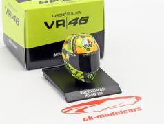 Valentino Rossi MotoGP 2014 AGV helmet 1:10 Minichamps