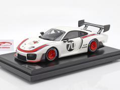 Porsche 935 #70 2018 basierend auf 911 (991 II) GT2 RS mit Vitrine 1:12 Spark