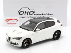 Alfa Romeo Stelvio Quadrifoglio année de construction 2017 blanc 1:18 OttOmobile