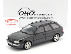Audi Avant RS2 ano de construção 1994 preto 1:18 OttOmobile