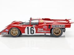 Ferrari 512 M #16 4e Plaats 24h LeMans 1971 Craft, Weir 1:18 CMR