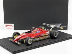 Didier Pironi Ferrari 126C2 #28 lang strand GP formule 1 1982 1:12 GP Replicas