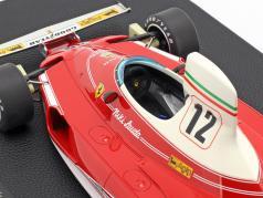 Niki Lauda Ferrari 312T #12 campeón del mundo fórmula 1 1975 1:12 GP Replicas