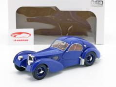 Bugatti Type 57 SC Atlantic year 1938 dark blue 1:18 Solido