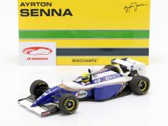 Ayrton Senna Williams FW 16 #2 Pacific GP formula 1 1994 1:18 Minichamps