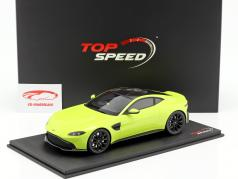 Aston Martin Vantage Construction year 2018 lime essence green 1:18 TrueScale
