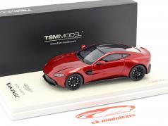 Aston Martin Vantage ano de construção 2018 hyper vermelho 1:43 TrueScale