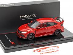 Honda Civic Type R RHD ano de construção 2017 Rallye vermelho 1:43 TrueScale