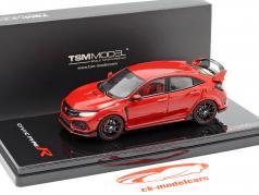 Honda Civic Type R LHD year 2017 Rallye red 1:43 TrueScale
