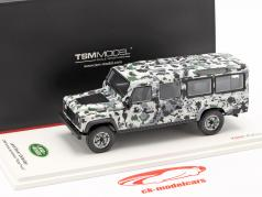 Land Rover Defender CNN Armoured Vehicle Pizza Truck 1995 camuflagem 1:43 TrueScale