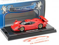Porsche 911 GT1 ano de construção 1998 vermelho 1:64  Kyosho