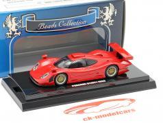 Porsche 911 GT1 year 1998 red 1:64  Kyosho