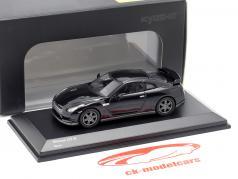 Nissan GT-R (R35) preto 1:64 Kyosho