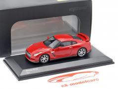 Nissan GT-R (R35) vermelho 1:64 Kyosho