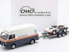 3-Car Set 勝者 Rallye des 1000 Pistes 1984 Rothmans Porsche 1:18 OttOmobile