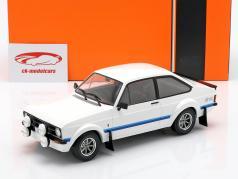 Ford Escort MK II RS 1800 RHD year 1977 white 1:18 Ixo