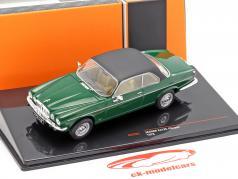 Jaguar XJ12C coupe year 1976 dark green / black 1:43 Ixo