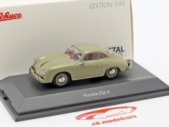 Porsche 356 A Coupe year 1955-1959 stone gray 1:43 Schuco