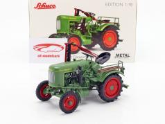 Fendt Dieselross F20G tractor groen 1:18 Schuco