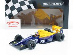 Jean Alesi Tyrrell 018 #4 F1 estréia 4th francês GP 1989 1:18 Minichamps