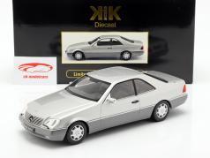 Mercedes-Benz 600 SEC (C140) Baujahr 1992 silber 1:18 KK-Scale