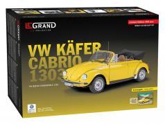 Volkswagen VW bille 1303 Cabriolet Opførselsår 1976 kit sol-gul 1:8 LeGrand