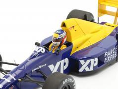 Jean Alesi Tyrrell 018 #4 F1 登场 4th 法国 GP 1989 1:18 Minichamps