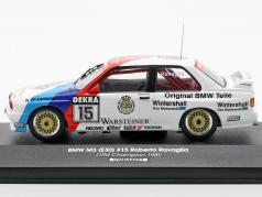 BMW M3 E30 #15 DTM campeão 1989 Roberto Ravaglia 1:43 CMR