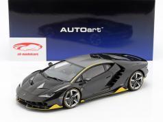 Lamborghini Centenario LP770-4 ano de construção 2017 claro carboxico 1:18 AUTOart