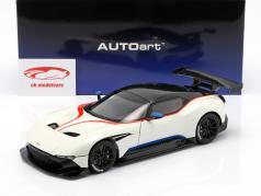 Aston Martin Vulcan 築 2015 層雲 白 1:18 AUTOart