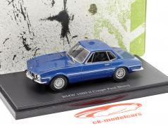 BMW 1600ti Coupe Paul Bracq Baujahr 1969 blau 1:43 AutoCult