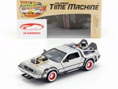 DeLorean Time Machine Back to the Future III 1:24 Welly