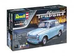 Trabant 601S kit light blue 1:24 Revell