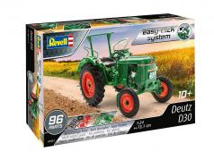 Deutz D30 Traktor Bausatz grün 1:24 Revell