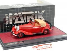 Mercedes-Benz 500K DHC Corsica Open Top Baujahr 1935 rot 1:43 Matrix