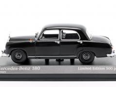 Mercedes-Benz 180 (W120) année de construction 1955 noir 1:43 Minichamps