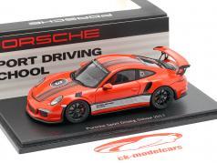 Porsche 911 (991) GT3 RS Sport Driving School 2017 lava orange 1:43 Spark