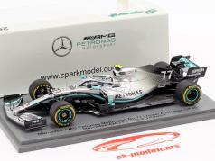 V. Bottas Mercedes-AMG F1 W10 #77 Vinder Australien GP formel 1 2019 1:43 Spark