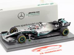L. Hamilton Mercedes-AMG F1 W10 #44 勝者 中国 GP 式 1 2019 1:43 Spark