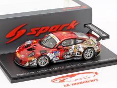 Porsche 911 GT3 R #910 FIA GT Nations Cup Bahrain 2018 Chao, Hongli 1:43 Spark