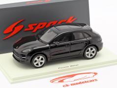 Porsche Macan Opførselsår 2019 sort 1:43 Spark
