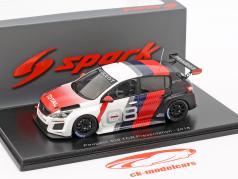 Peugeot 308 TCR Presentation Car 2018 1:43 Spark