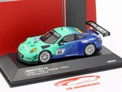 Porsche 911 (991) GT3 R #44 девятую 24h Nürburgring 2018 Falken 1:43 CMR