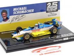 M. Schumacher Reynard 893 #32 gagnant qualificatif Macau GP 1989 1:43 Minichamps