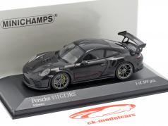 Porsche 911 (991 II) GT3 RS year 2018 black 1:43 Minichamps