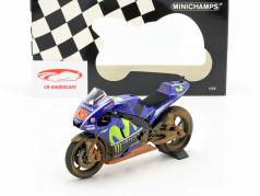 M. Vinales Yamaha YZR-M1 Dirty Version #25 MotoGP Malaysia 2017 1:12 Minichamps